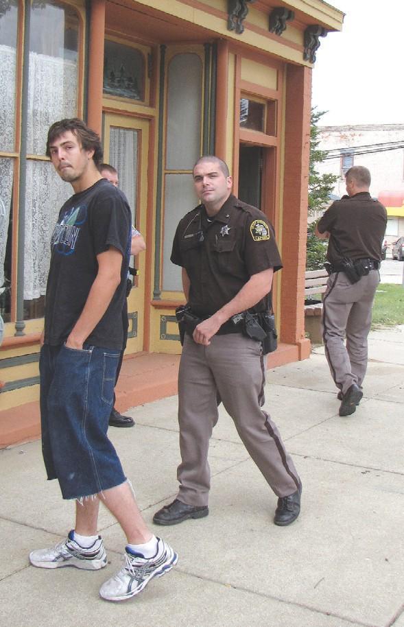 Dispensary raided again   The County Press