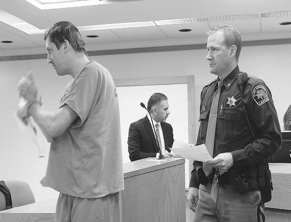 Goodland Twp  man who reportedly threatened judge remains in
