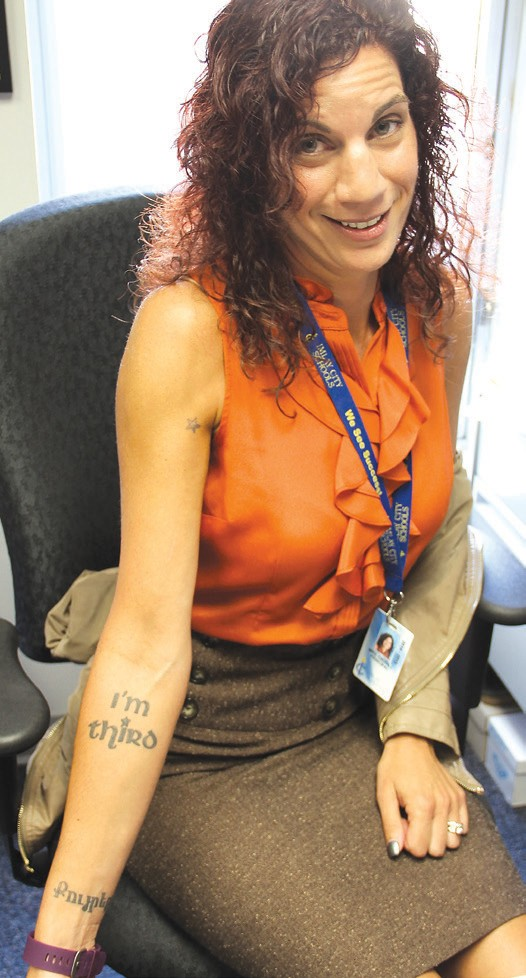 Principal Shares Personal Meaning Behind Body Art The County Press