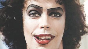 The Rocky Horror Picture Show stars Tim Curry, Susan Sarandon and Barry Bostwick, along with actors from original theatrical productions.